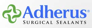 Adherus surgical sealants logo