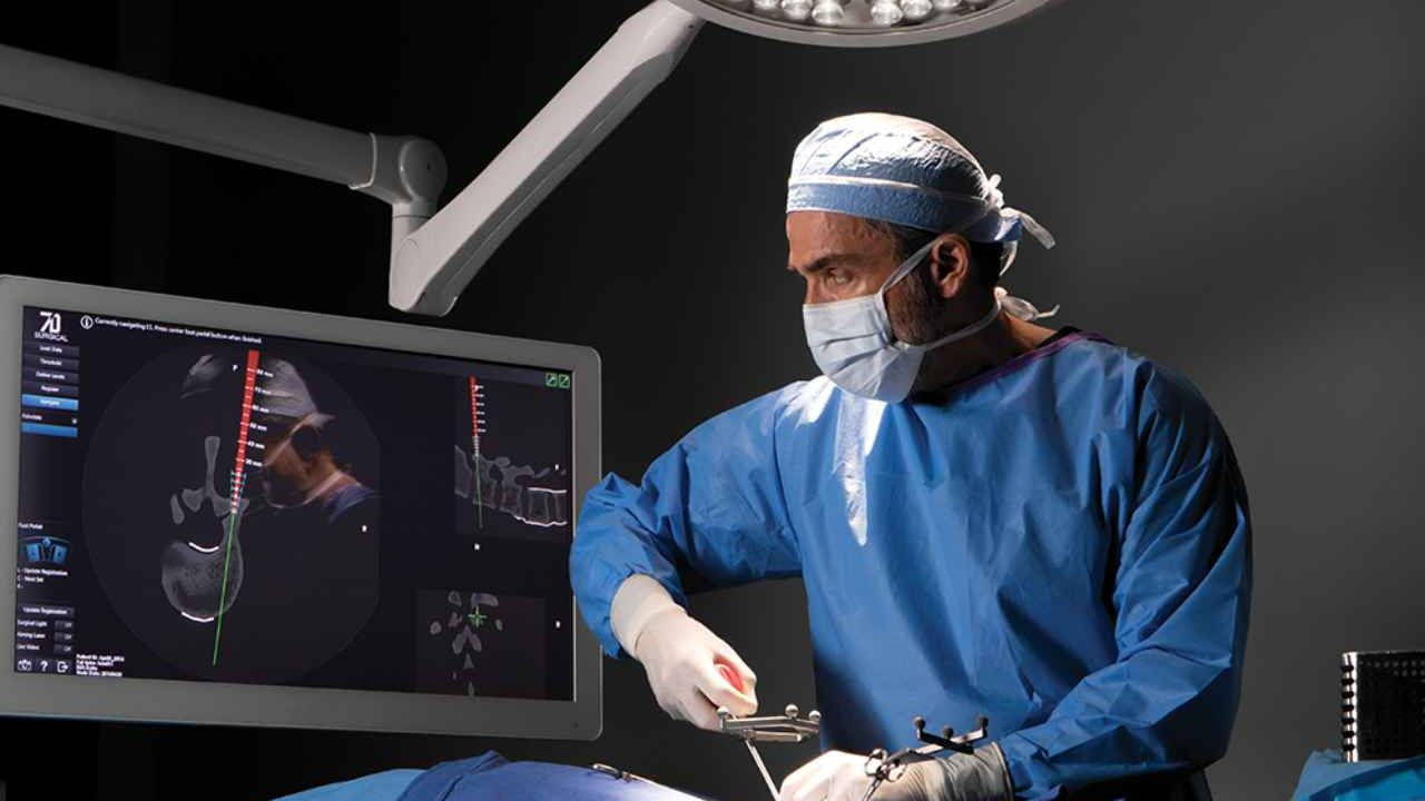 Spine Navigation Machine-vision Image Guided Surgery (MvIGS)