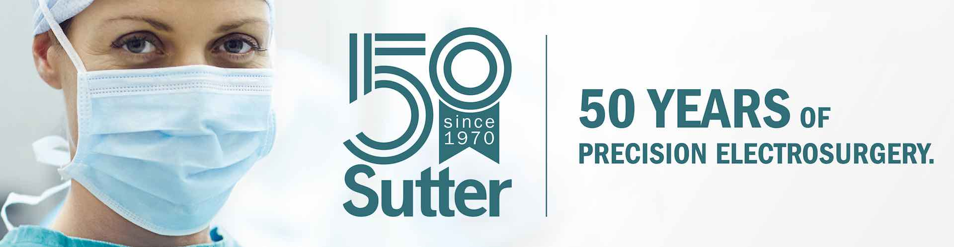 Sutter Medical 50th banner